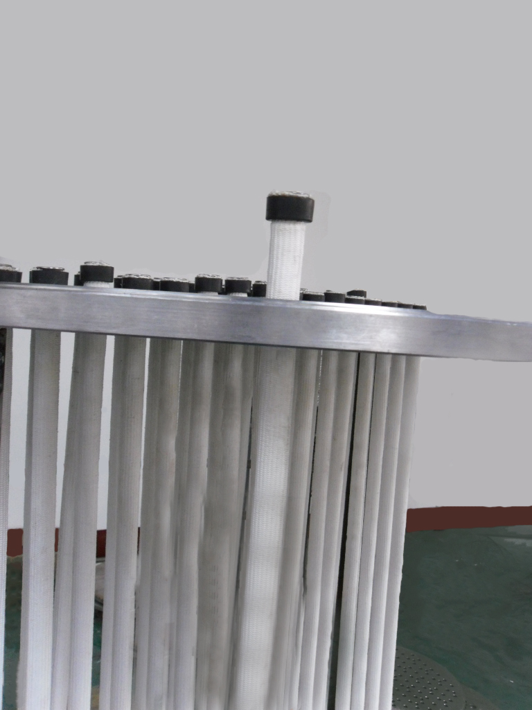 Activated carbon filter maintenance points